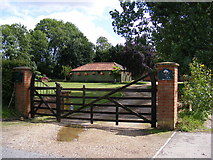 TG0524 : The entrance to The Old Hall by Geographer