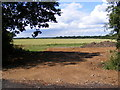 TG0524 : New entrance off Reepham Road by Adrian Cable