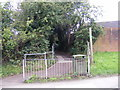 TM3877 : Swan Lane footpath to Pound Close by Adrian Cable