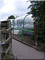 TM3877 : Entrance to the Co-op Superstore from the Swan Lane footpath by Adrian Cable