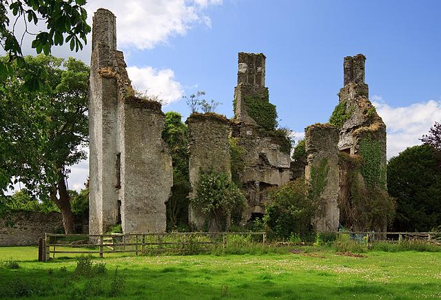 Castles of Leinster: Calverstown, Kildare (1)