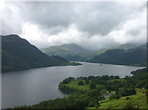 NY4020 : Ullswater from above Lyulph's Tower by Karl and Ali