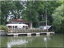 TQ1673 : Richmond Yacht Club, Eel Pie Island by Malc McDonald