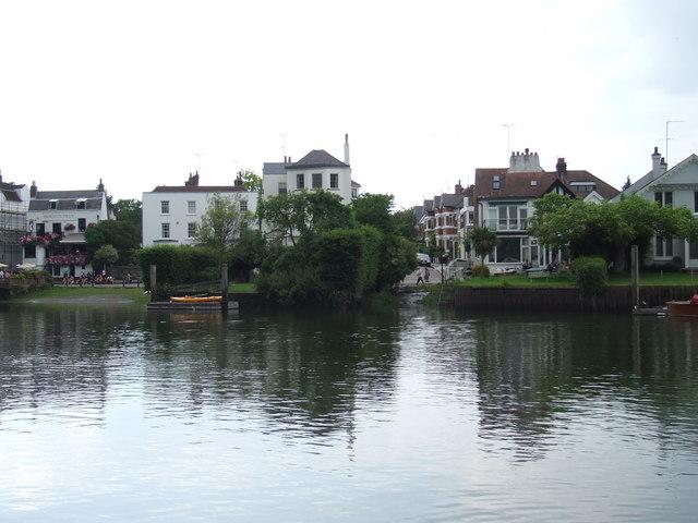 On the Thames at Twickenham