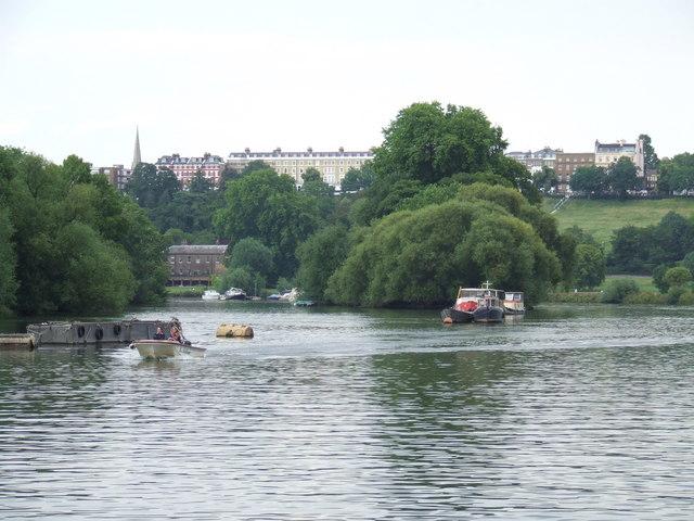 On the Thames near Richmond
