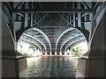 SU9179 : The New Thames Bridge at Dorney Reach by Rod Allday