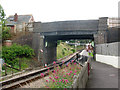 TQ5337 : Station Road bridge  by Stephen Craven