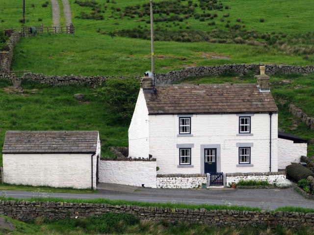 Cottage on north side of B6277, Teesdale