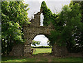N8375 : The arch at Arch Hall, Wilkinstown (5) by Mike Searle