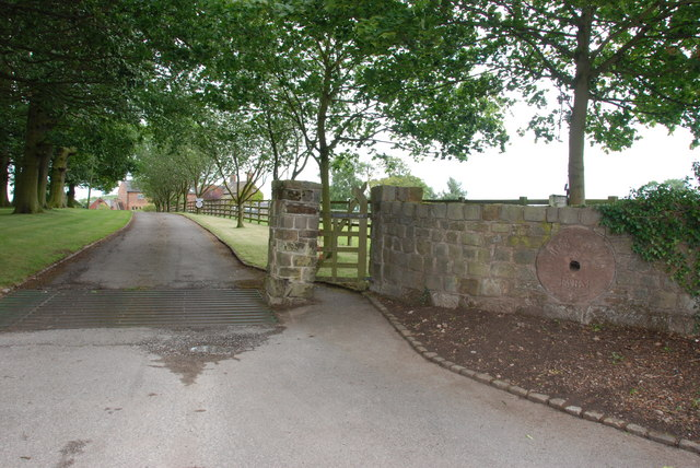 Entrance to Higher Coley Farm