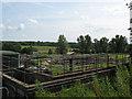TQ5438 : Tunbridge Wells South Wastewater Treatment Works by Stephen Craven