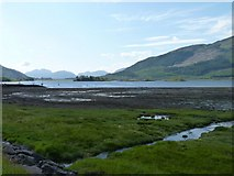 NN0958 : Mud flats by James Allan