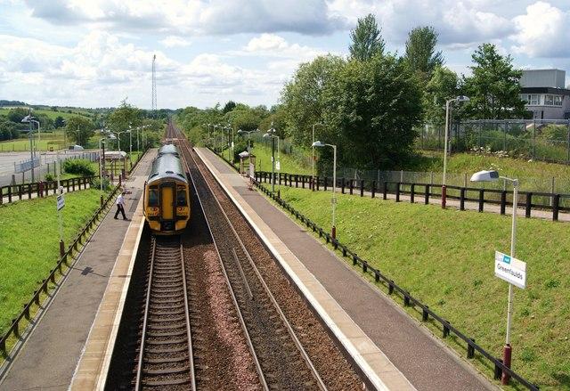 Greenfaulds Railway Station