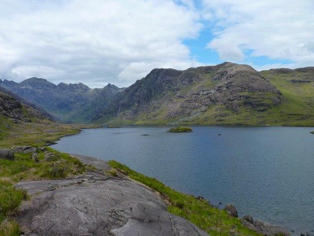 Northern shore of Loch Coruisk by James Allan