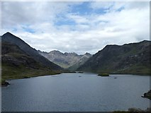 NG4820 : Sunshine on the Cuillin Hills by James Allan