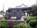 TQ4675 : Russian Cannon from Crimean War, Welling by PAUL FARMER