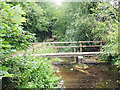 SU0394 : A footbridge over the Thames near Ashton Keynes by Row17