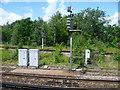 TQ1573 : Railway signals west of Twickenham station by Marathon