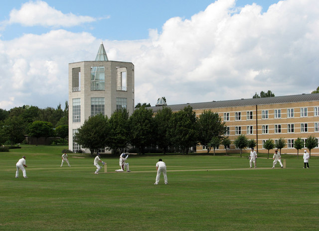 Cricket at Churchill College