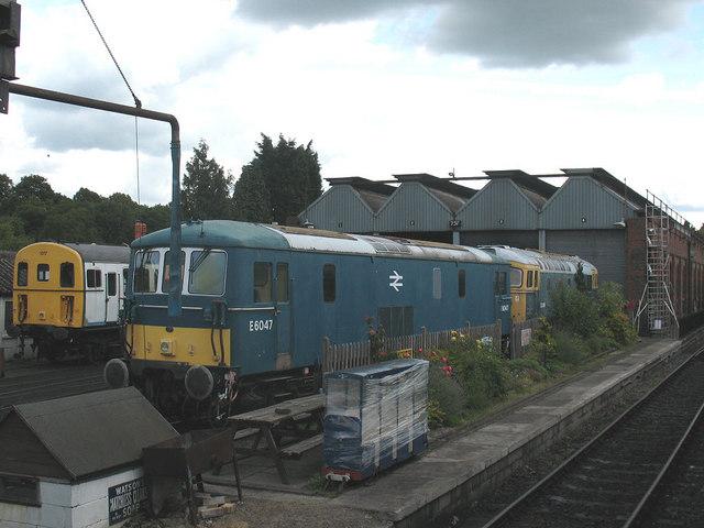 Tunbridge Wells railway depot
