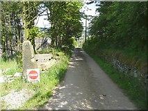 SE0125 : Hebden Royd Path 60 at Stake, Mytholmroyd by Humphrey Bolton