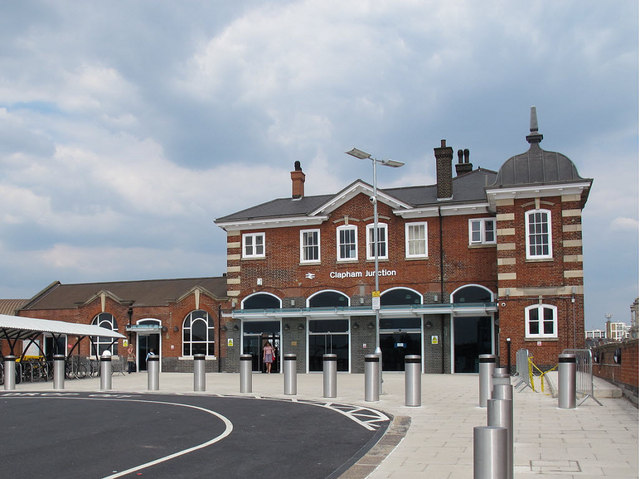 New entrance to Clapham Junction