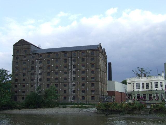 Warehouse at Mortlake