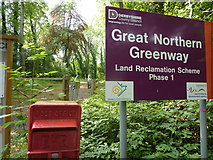 SK3739 : Great Northern Greenway by Peter Barr
