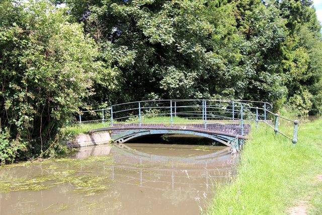 Bridge over the new River, Broxbourne, Hertfordshire