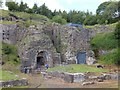 SO2409 : Furnaces at Blaenavon ironworks by David Smith