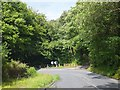 SO2713 : Hairpin bend on B4246 at Graig Ddu by David Smith