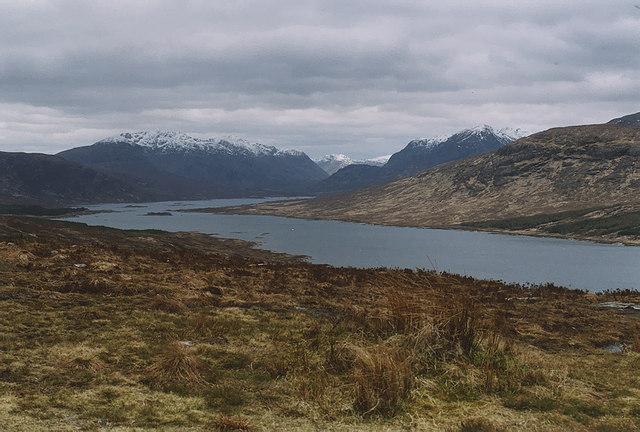View down Loch Loyne