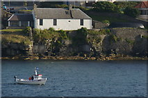 HU4841 : Small boat in Lerwick harbour by Mike Pennington