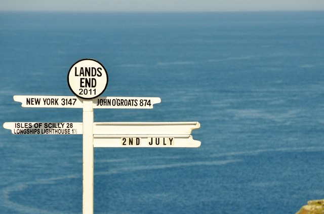 Land's End : Signpost