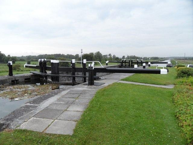 Lock No. 20 on the Grand Canal, Ticknevin, Co. Kildare