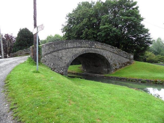 Ticknevin Bridge on the Grand Canal in Co. Kildare