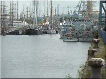 NS2975 : James Watt Dock, Greenock by Andy Farrington