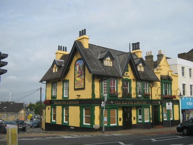 The Old Fox and Hounds Public house, Croydon