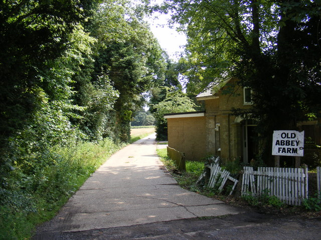 The entrance to Old Abbey Farm