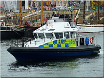 NS2975 : Police Launch Mull by Andy Farrington