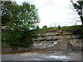 SD8488 : Disused limestone quarry, Tarney Force, Widdale by Karl and Ali