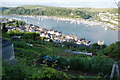 SX8750 : Allotments above Dartmouth by Bill Boaden