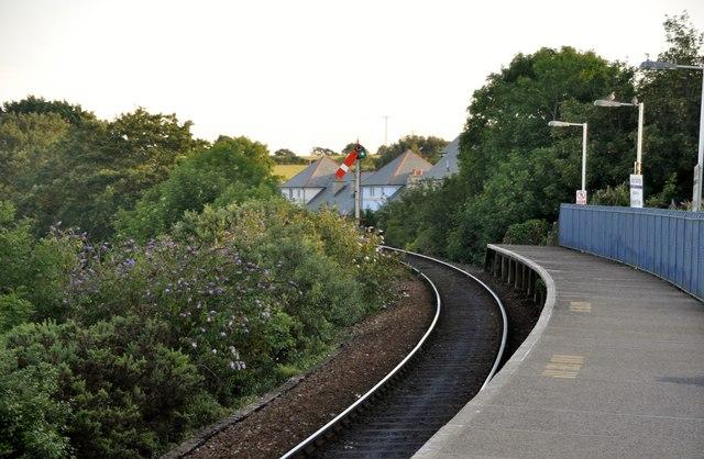 Lelant : Lelant Saltings Station