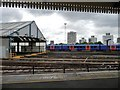 TQ2775 : Sidings and train shed, Clapham Junction by Christine Johnstone