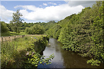NT2864 : River North Esk at Polton by Tom Richardson