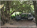 TQ2252 : No Wheels on my Wagon by Colin Smith