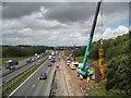 TL2100 : M25 Motorway near South Mimms by Nigel Cox