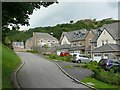 SD9221 : New houses at Ramsden Wood Road, Walsden by Humphrey Bolton