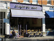 TQ2784 : Violette Café, England's Lane, NW3 by Mike Quinn