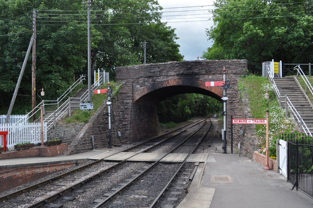 Road Bridge at Bishops Lydeard Station